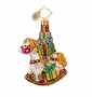 Christopher Radko Wrappin Rocker Little Gem Ornament