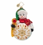 Christopher Radko Snowy Grace Ornament