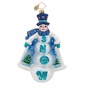 Christopher Radko Snowy Capers Ornament