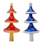 Christopher Radko Twirling Tiers Finial Tree Topper (Assorted Colors)