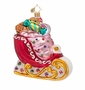 Christopher Radko Sugar Sweet Sleigh Ride Ornament