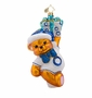 Christopher Radko Bear-y Merry Ornament
