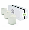 LAFCO House & Home Dining Room Three Mini Candles (Celery Thyme)