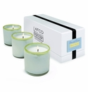 LAFCO House & Home Beach House Three Mini Candles (Sea and Dune)