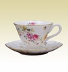 Porcelain Tea Cup & Saucer Set  Sasha's Secret Garden