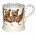 Emma Bridgewater Gold Sebright Hen 1/2 Pint Mug