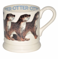 Emma Bridgewater Animals Otter 1/2 Pint Mug