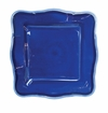 Le Cadeaux Melamine Provence Solid Blue 11 in. Square Dinner Plate
