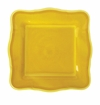 Le Cadeaux Melamine Provence Solid Yellow 11 in. Square Dinner Plate