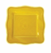 Le Cadeaux Melamine Provence Solid Yellow 9 in. Square Salad Plate