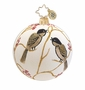 Christopher Radko Tiny Bird Freeblown Ornament