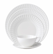 Jasper Conran China Diamond Embossed 5 Piece Place Setting