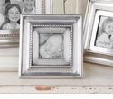 Mud Pie Antique Pewter Square Photo Frame