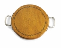 Mud Pie Round Board With Handle