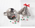 Mud Pie Metal Tree or Santa Dip Cup Set (Asst Designs)