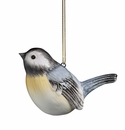 J. Willfred Ceramics Chickadee Ornament