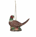 Andrea by Sadek Pheasant Ornament