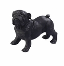 "Andrea by Sadek 7.5"" L 6"" H Resin Bulldog"