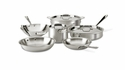 All Clad MC2 9 Piece Cookware Set
