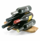 Enrico Rootworks Wooden Wine Rack