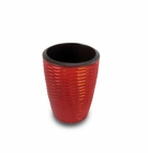 Enrico Mango Utensil Vase Honeycomb Chili Pepper Red