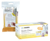 "Medla 87055 Quick Clean Breastpump & Accessory Wipes (24 Pack) ""In-Stock"""