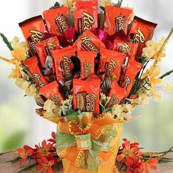 Holiday Gifts Candy Bouquet
