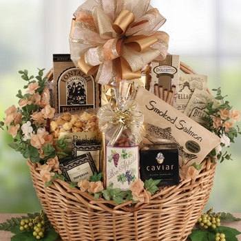 Best Wedding Gift Basket Ever : The Ritz Gourmet Gift Basket