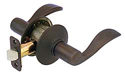 Schlage Accent Levers Oil Rubbed Bronze