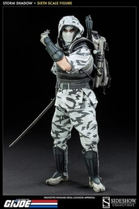 GI Joe 1/6 Collectible Figure Storm Shadow Pre-Order ships February
