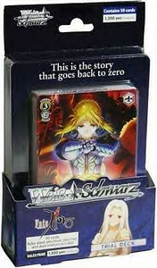 Weiss Schwarz ENGLISH Trial Deck Fate / Zero