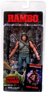 NECA Rambo First Blood Series 1 Action Figure Rambo