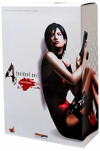 Hot Toys Resident Evil 4 Deluxe 12 Inch Action Figure Ada Wong [B.S.A.A. Version] New!