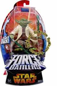Star Wars EIII Revenge of the Sith Force Battlers Action Figure Yoda