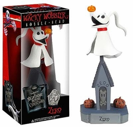 Funko Nightmare Before Christmas Wacky Wobbler Bobble Head Zero New!