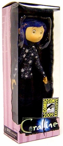NECA 2009 SDCC San Diego Comic-Con Exclusive Action Figure Coraline In Star Spangled Sweater
