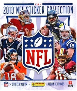 Panini NFL Football 2013 Sticker Collection Album