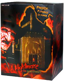 NECA Nightmare on Elm Street 7 Inch Scale Furnace Diorama