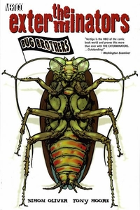 Vertigo Exterminators Trade Paperbacks and Hardcovers