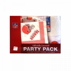 NFL Party Pack Cleveland Browns