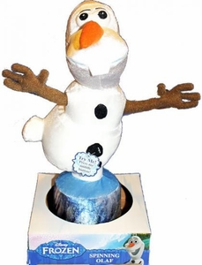 Disney Frozen Spinning & Talking Plush Figure Olaf
