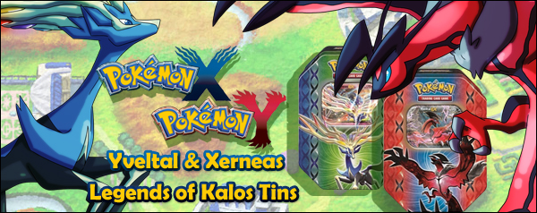 Pokemon X & Y Legends of Kalos Tins