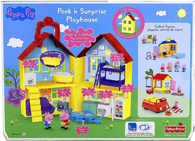 Fisher-Price Playset Peppa Pig Peek 'n Surprise Playhouse