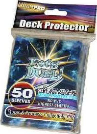Ultra Pro Card Supplies Creative Series Standard Card Sleeves Let's Duel [50 Count]