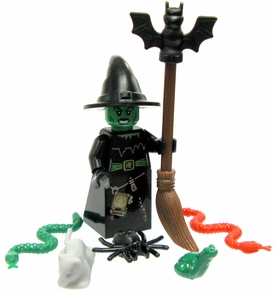 LEGO Minifigure LOOSE Mini Figure Wicked Witch with Assorted Familiars