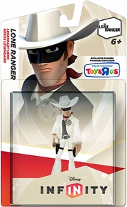 Disney Infinity Exclusive Game Figure Crystal Lone Ranger [Translucent]