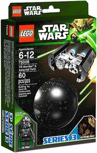 LEGO Star Wars Set #75008 TIE Bomber & Asteroid Field
