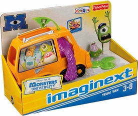 Disney / Pixar Monsters University Exclusive Imaginext Vehicle Team Van