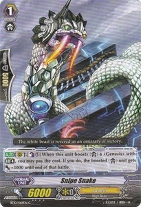Cardfight Vanguard ENGLISH Triumphant Return of the King of Knights Single Card Common BT10/069 Snipe Snake