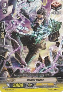 Cardfight Vanguard ENGLISH Triumphant Return of the King of Knights Single Card Common BT10/074 Bandit Danny